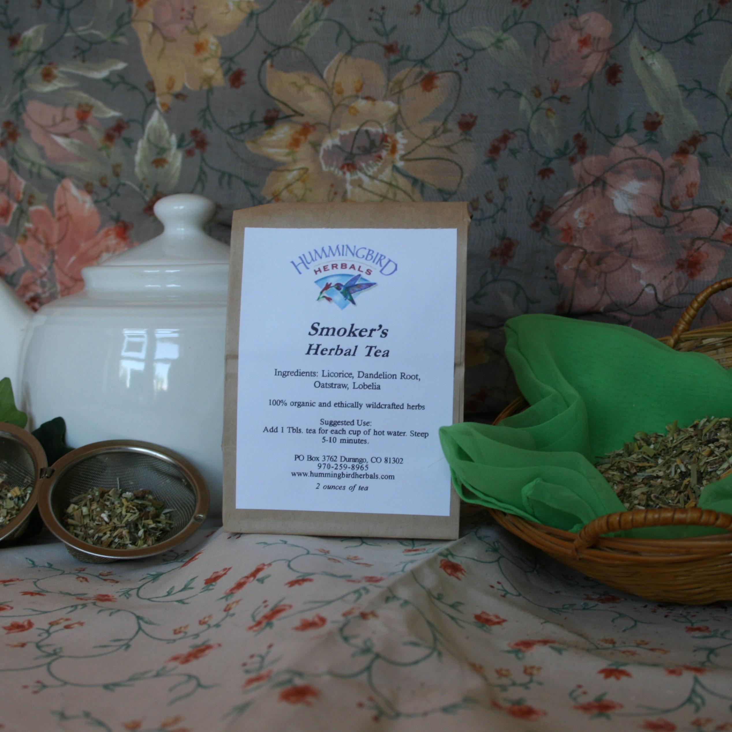 Smokers Tea Hummingbird Herbals